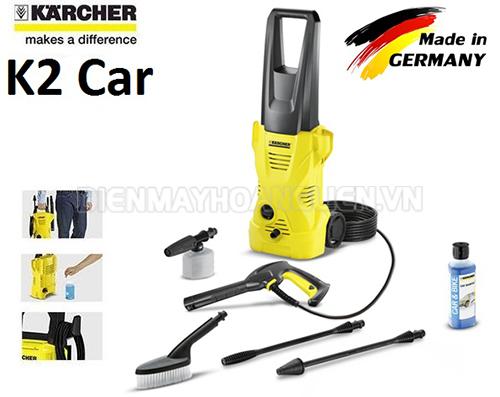 K2 Compact Car - máy xịt rửa xe cao áp giá rẻ