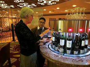 Photo: Wine tasting in Cellar Masters Bar