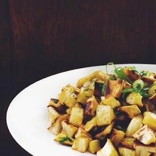 Parsnip & Garlic Chive Home Fries