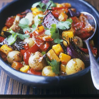 Mixed Vegetable Curry with Coriander