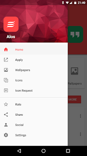 Alos - Icon Pack Screenshot