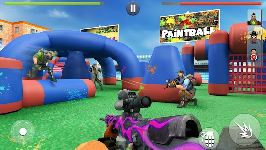 Paintball Shooting Squad: Battleground Army Combat Apk Download For Android and Iphone 1