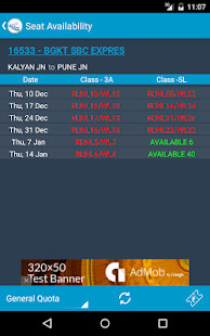 Indian Rail Train Status- screenshot thumbnail