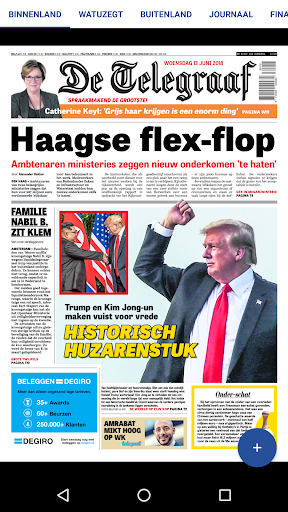 De Telegraaf Krant screenshot 2