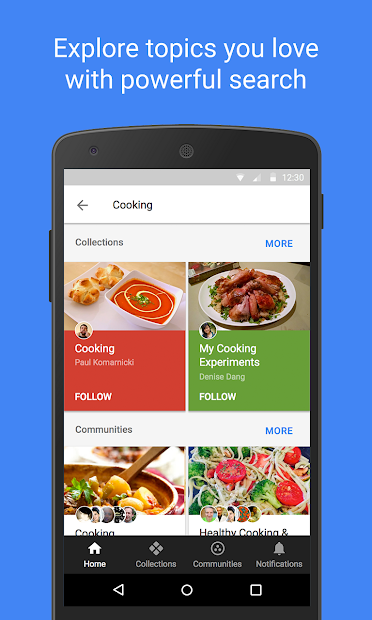 Google+ for G Suite screenshot 3