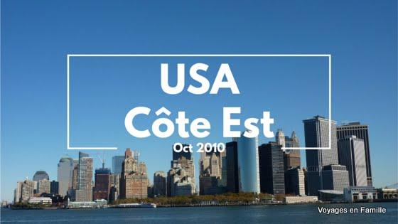 Usa Cote Est 2012