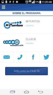 Mi Club BI- screenshot thumbnail