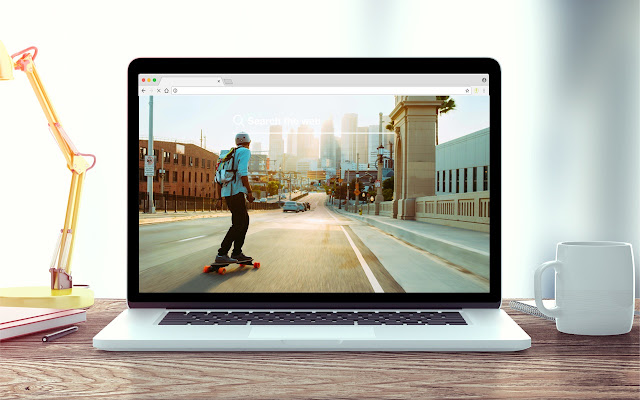 Boosted Boards New Tab Sports Theme