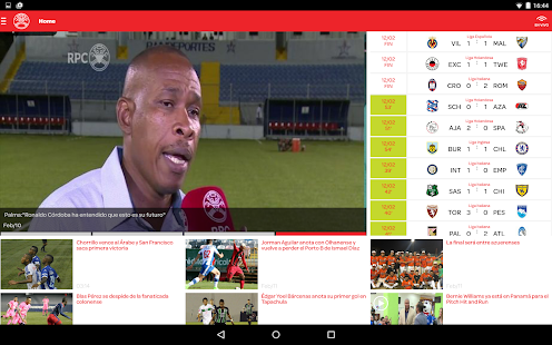 Deportes RPC- screenshot thumbnail
