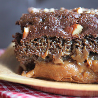 Chocolate Caramel Turtle Cake of Wonder