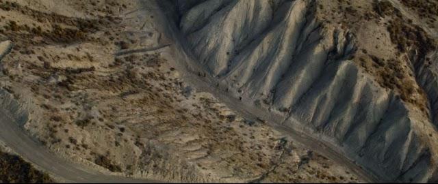 Otra imagen del Desierto de Tabernas en el tráiler.