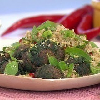 Spinach and Lemon Polpette Recipe