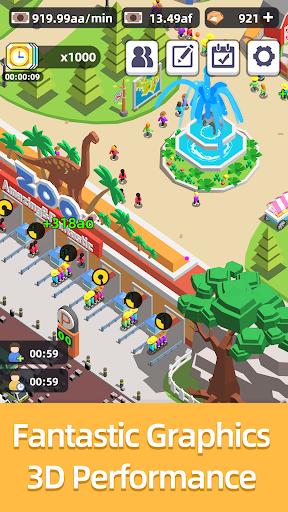 Télécharger Gratuit Idle Zoo Tycoon mod apk screenshots 3