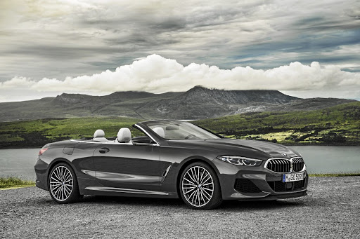 BMW has peeled off the roof of its flagship coupe.