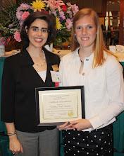 Photo: Laura Parrott with Susan Lamar Award Winner