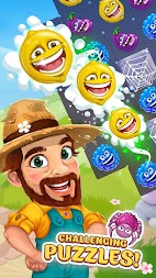 Funny Farm match 3 game APK screenshot thumbnail 11