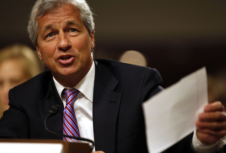 JPMorgan boss Jamie Dimon. Picture: REUTERS
