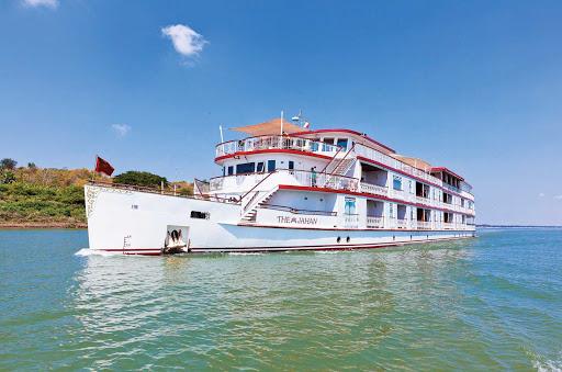 jahan-on-mekong-river3.jpg - The Jahan sails down the Mekong River on a Lindblad Expeditions tour.