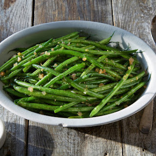 French Green Beans and Shallots