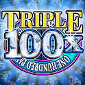 Triple Diamonds 100x Slots icon