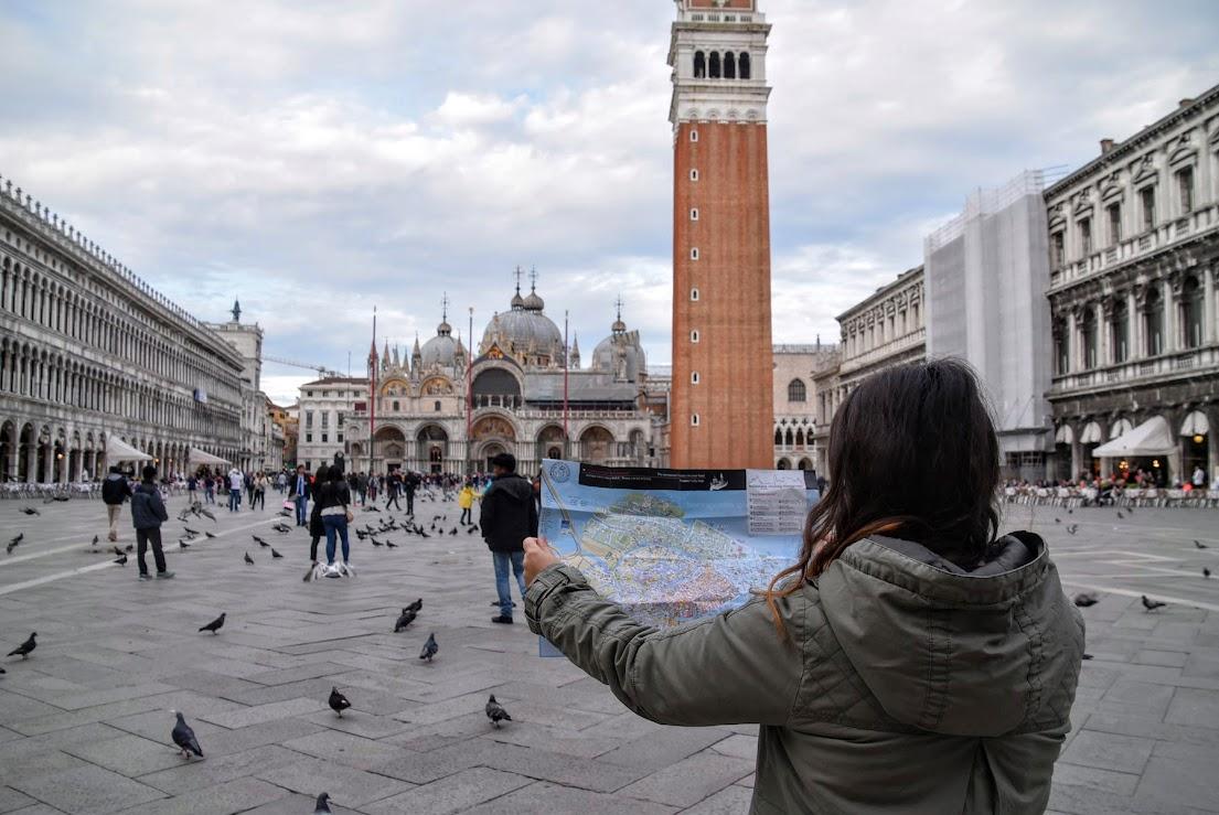 itinerario de un dia en venecia
