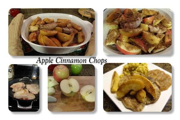 Apple Cinnamon Chops Recipe