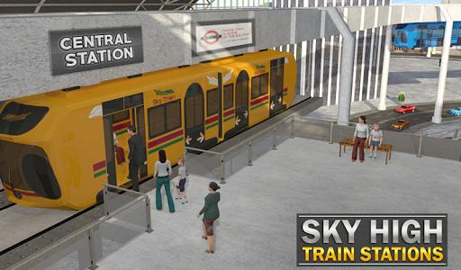 Elevated Train Driving Simulator: Sky Tram Driver apktram screenshots 19