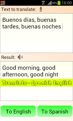 Translate - Spanish English 4.1.9 screenshots 2