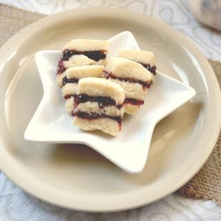 Cherry Cranberry Ribbon Cookies