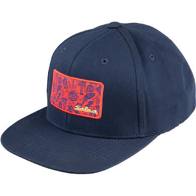 Salsa Gravel Icons Trucker Hat - Blue, Red, Yellow, One Size