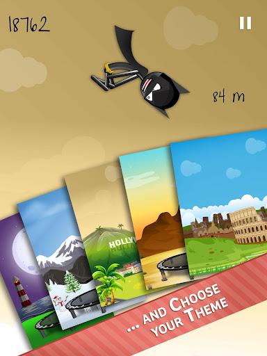 Stickman Trampoline FREE Backflip Jump Flip Master modavailable screenshots 9
