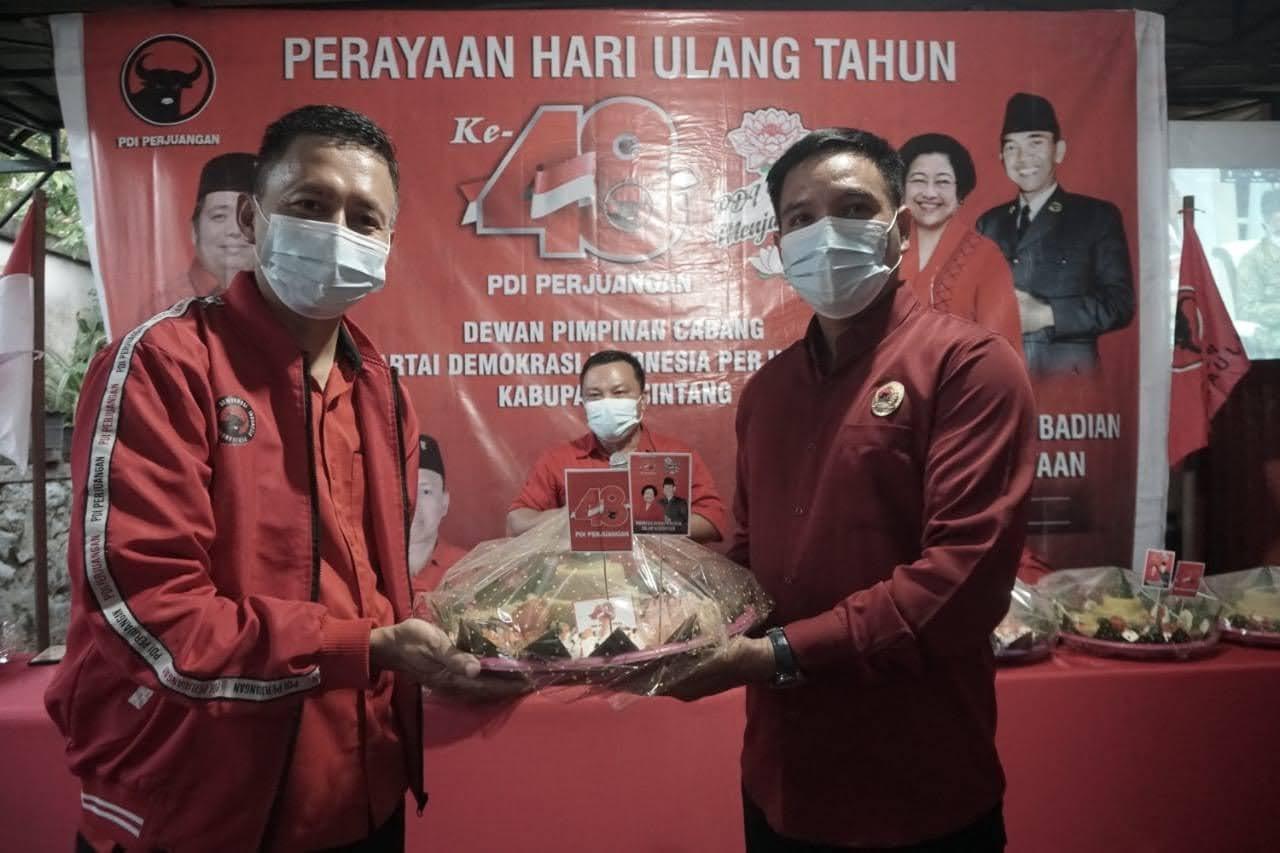 Ultah PDIP Ke-48 Jeffray Ajak Kader Doakan Korban Pesawat Sriwijaya Yang Jatuh