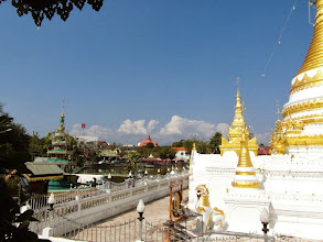 Photo: Impressive scenery, temples everywhere!
