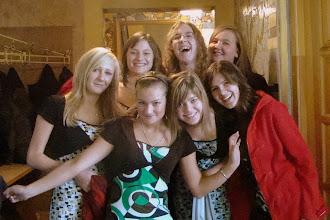 Photo: świeżo po przesłuchaniu:) (dzień przesłuchań - 25.10.2008)