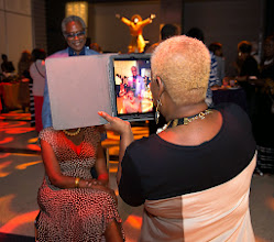 Photo: NABJ Founder's Reception during the 2014 National Association of Black Journalist (NABJ) convention in Boston, Mass. July 30-Aug 3.  (Photo by Harry E. Walker)