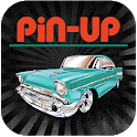 Pin Up time icon