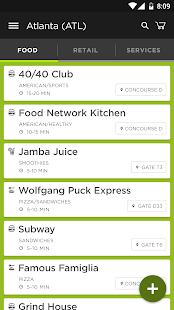 Grab - Airport Mobile Ordering- screenshot thumbnail