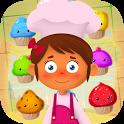 Cupcake Crush: Match 3 Games icon
