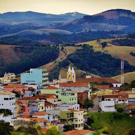 Cunha SP Brazil  by Marcello Toldi - City,  Street & Park  Vistas