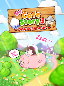 My Cafe Story3 -DONBURI SHOP- v6 (Mod Money)