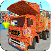 Cargo Truck Driver 2017 : Indian Truck Driver