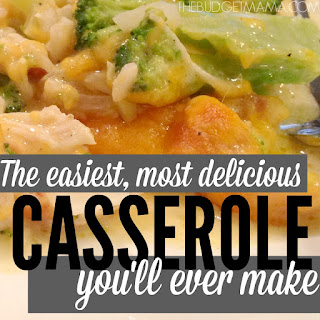 Chicken and Rice Broccoli Casserole