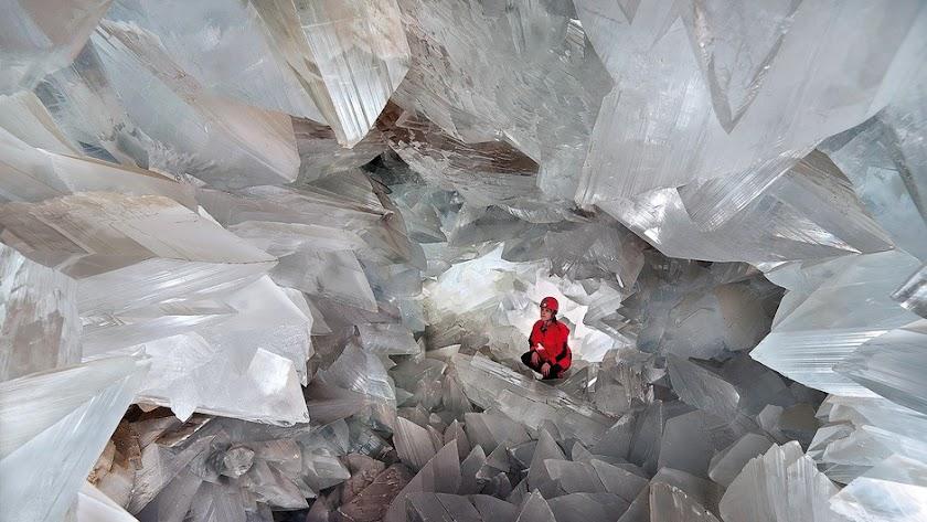 Imagen promocional de la Geoda Gigante de Pulpí.