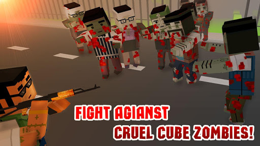 Cube Wars: Zombie Shooter 3D