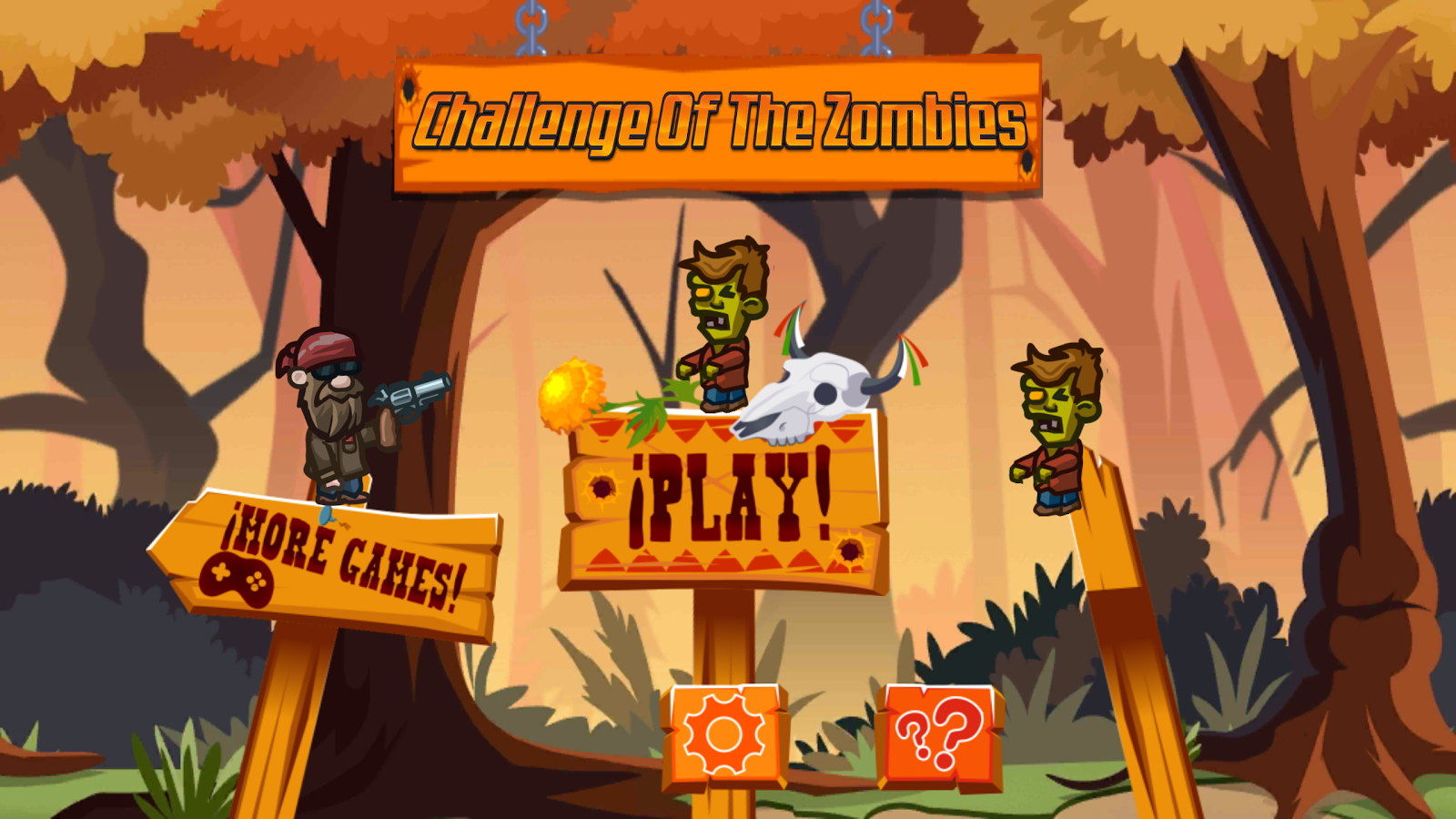 Challenge Of The Zombies for MotionPlay- screenshot