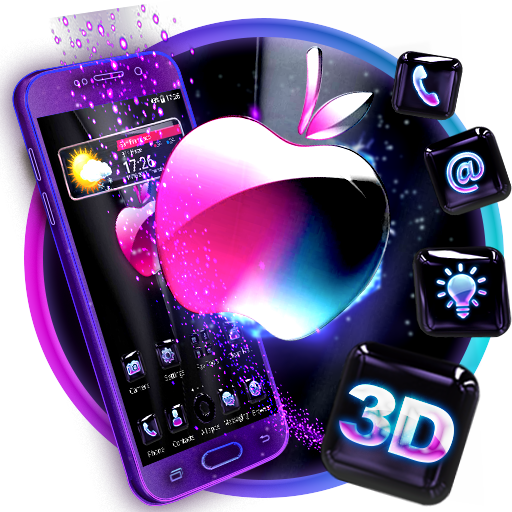 3d Glass Tech Apple Theme Aplikacije Na Google Playu