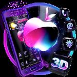 3D Glass Tech Apple Theme Icon