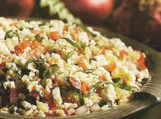 Herbed Mushroom Asparagus Orzo Recipe