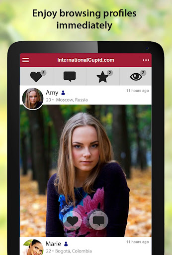 InternationalCupid - International Dating App 2.1.6.1561 screenshots 6