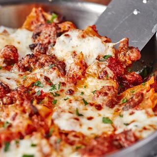 Weeknight Skillet Lasagna.